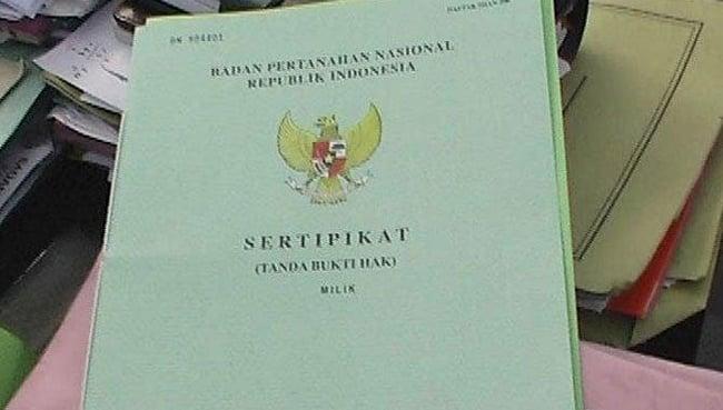 sertifikat hak pakai