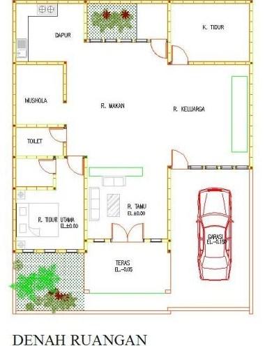 7 Sketsa Rumah Minimalis Modern Terbaru 2020 Pilihan Desain Terbaik