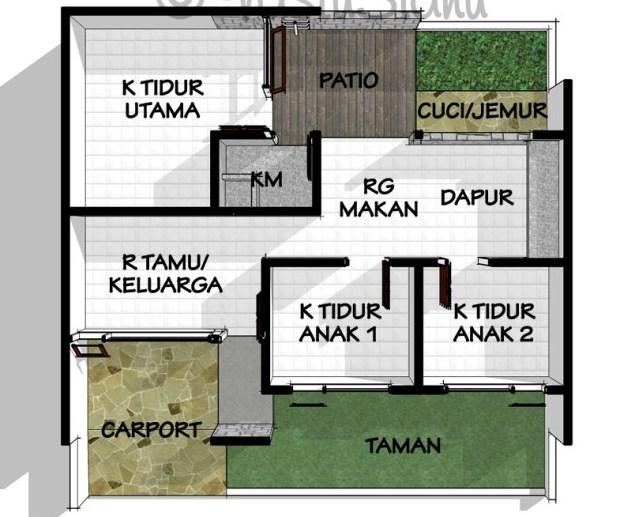 7 Sketsa Rumah Minimalis Modern Terbaru 2020 | Pilihan Desain Terbaik!