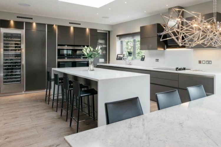 tinggi kitchen set ideal