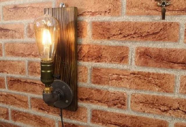 lampu rustic