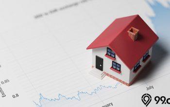 saham properti masuk zona hijau