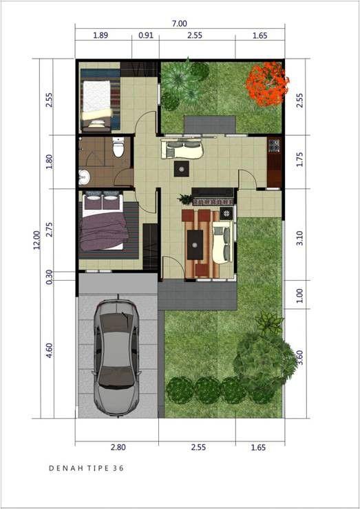 7 Inspirasi Desain Rumah Luas Tanah 60 M2 Untuk Keluarga Muda