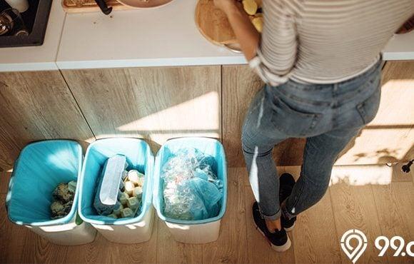 cara menghilangkaun bau sampah basah