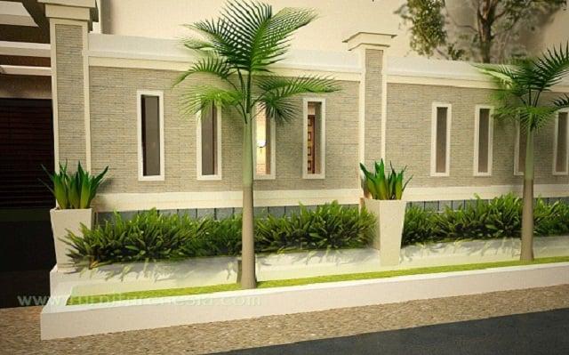 13 Desain Pagar Tembok Minimalis | Hunian Nyaman & Super Aman!