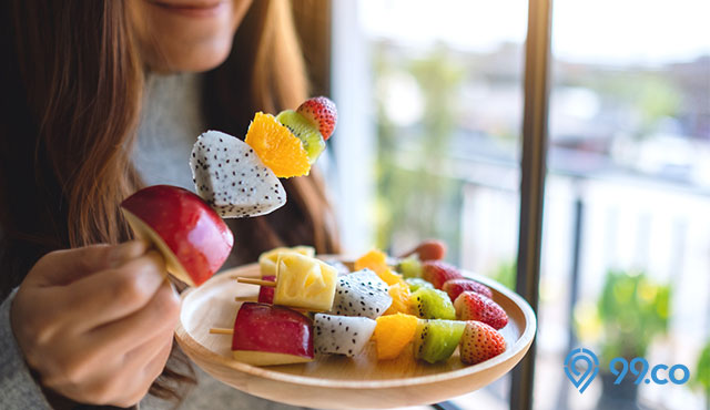 sate buah
