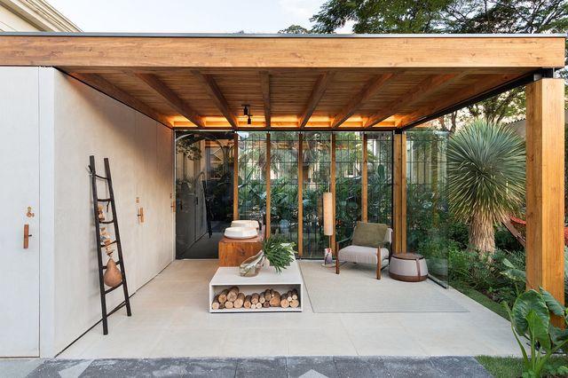 7 Model Teras Rumah Masa Kini Dengan Tampilan Simpel Dan Modern