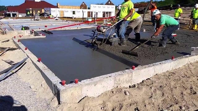 screed lantai beton