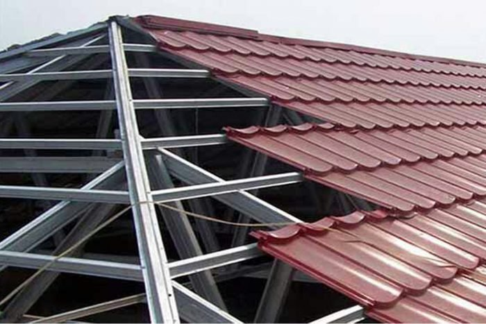 atap baja ringan untuk rumah anti gempa