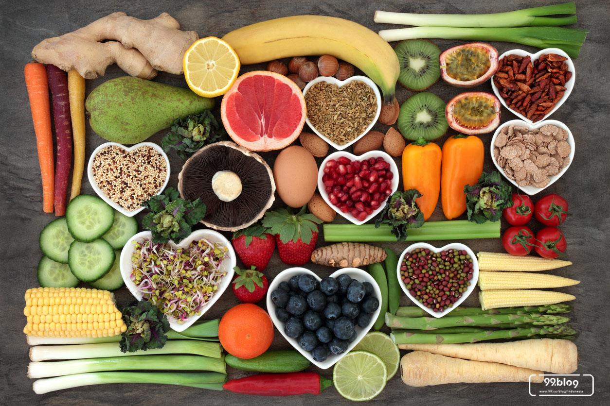cara menurunkan berat badan makanan berserat