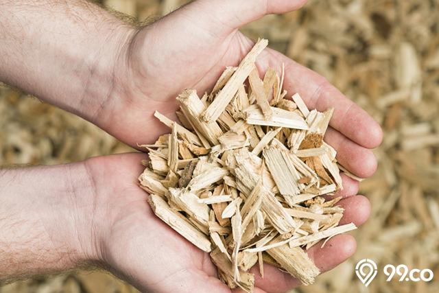 serbuk serbuk kayu