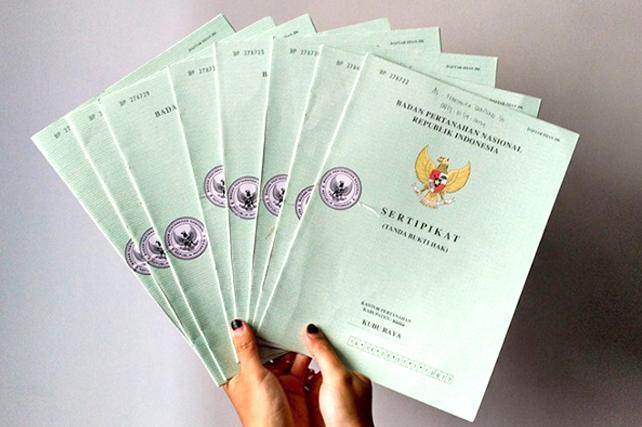 sertifikat hijau jadi sertifikat shm