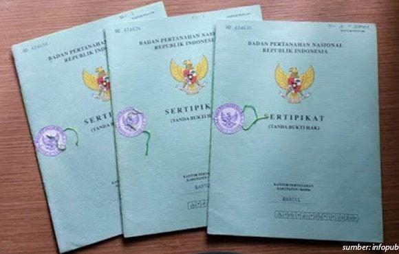sertifikat tanah