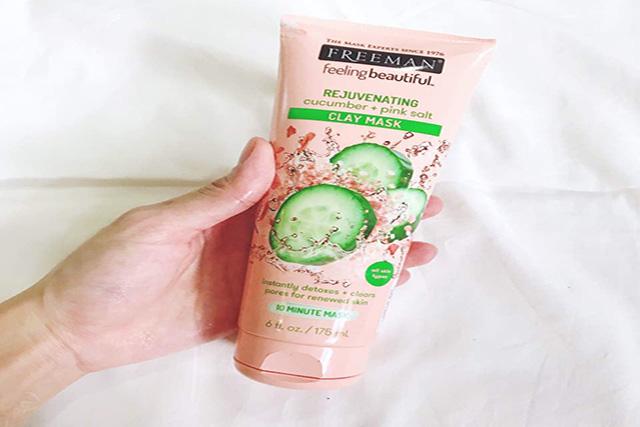 Freeman Rejuvenating Cucumber + Pink Salt Clay Mask