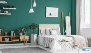 kombinasi warna cat kamar tidur