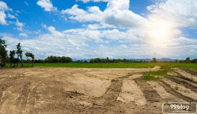 posisi tanah kavling