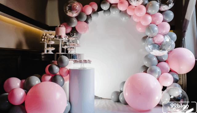 7 Ide Dekorasi Balon untuk Berbagai Acara di Rumah | Penuh Warna!