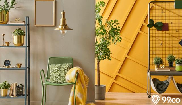 Ingin Ruangan Tampil Cerah? Pakai Cat Rumah Warna Kuning!