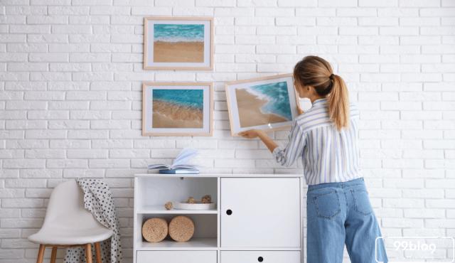 Inspirasi Desain Ruang Tamu Berwarna Biru | Santai Kayak di Pantai!