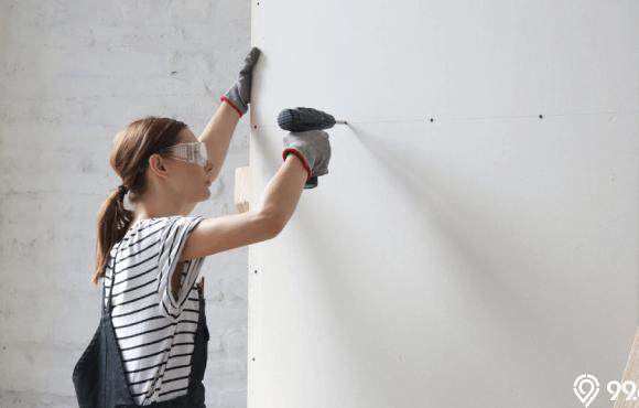 merawat dinding tembok rumah