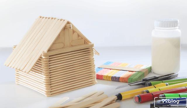 cara membuat rumah dari stik
