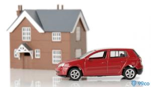 rumah atau mobil