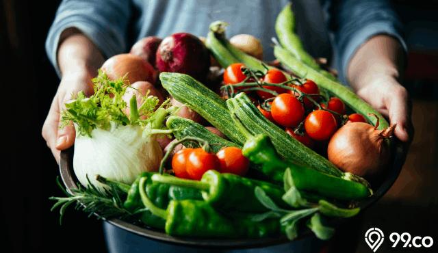 sayuran penambah darah