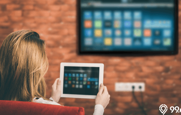 smart tv murah