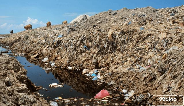 limbah plastik impor