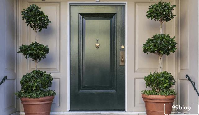 warna pintu rumah