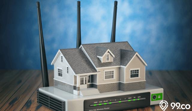 pasang wifi di rumah
