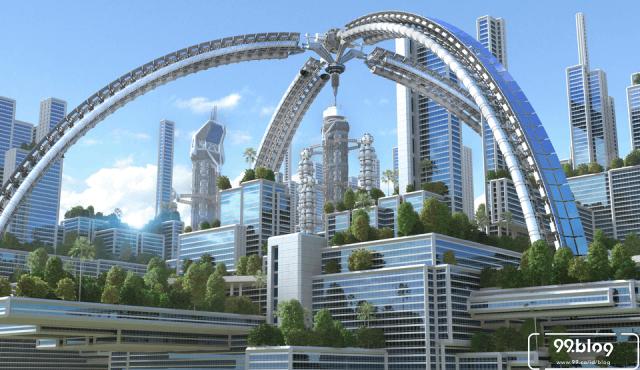 11 Desain Bangunan Futuristik Era Modern yang Jadi Mahakarya Dunia