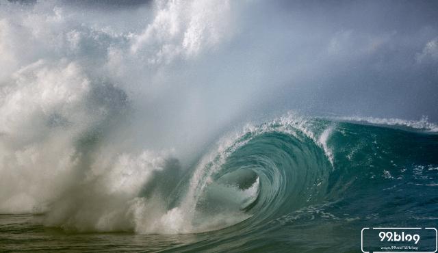 potensi gelombang tinggi