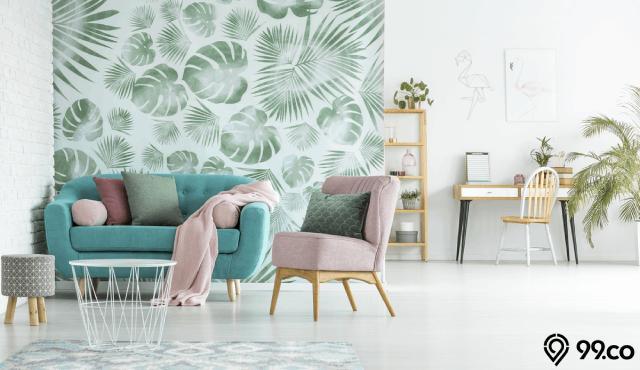 6 Tips Memilih Wallpaper Ruang Tamu di Rumah dengan Cermat