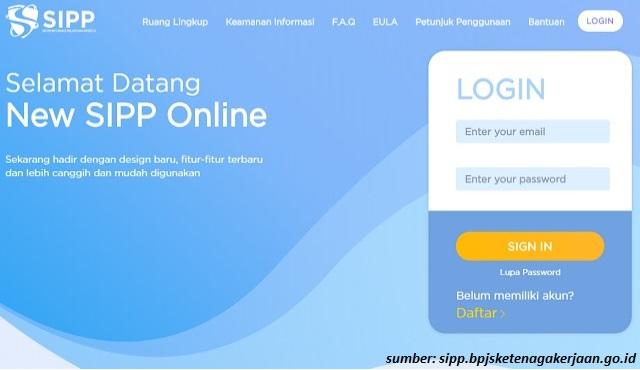 cara menggunakan sipp online