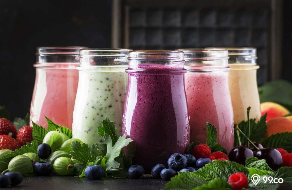 cara menambah berat badan minum smoothies sehat