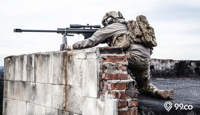sniper jitu terbaik di dunia