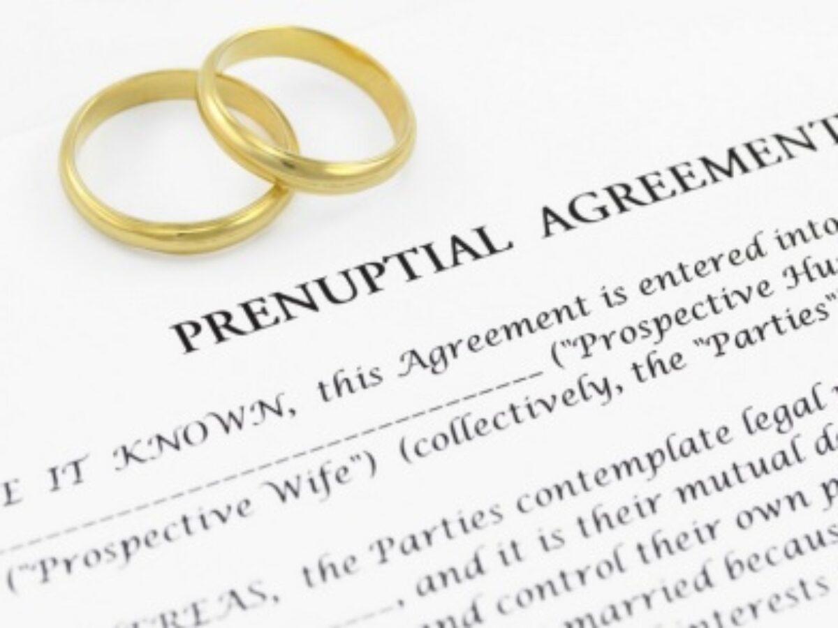 surat perjanjian pra nikah