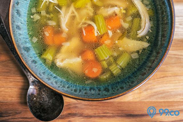 menu makanan sehat sop bening