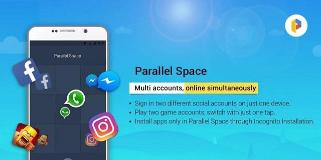 Menggunakan dua akun WhatsApp dalam satu hp via parallel space