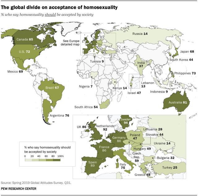 statistik komunitas LGBTIQ