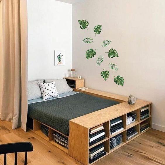stiker dinding kamar minimalis