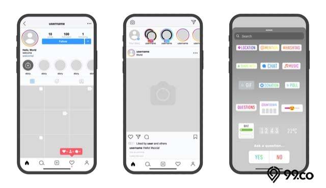 3 Cara Mudah Membuat dan Menambahkan Stiker Instagram Sendiri. Coba yuk!