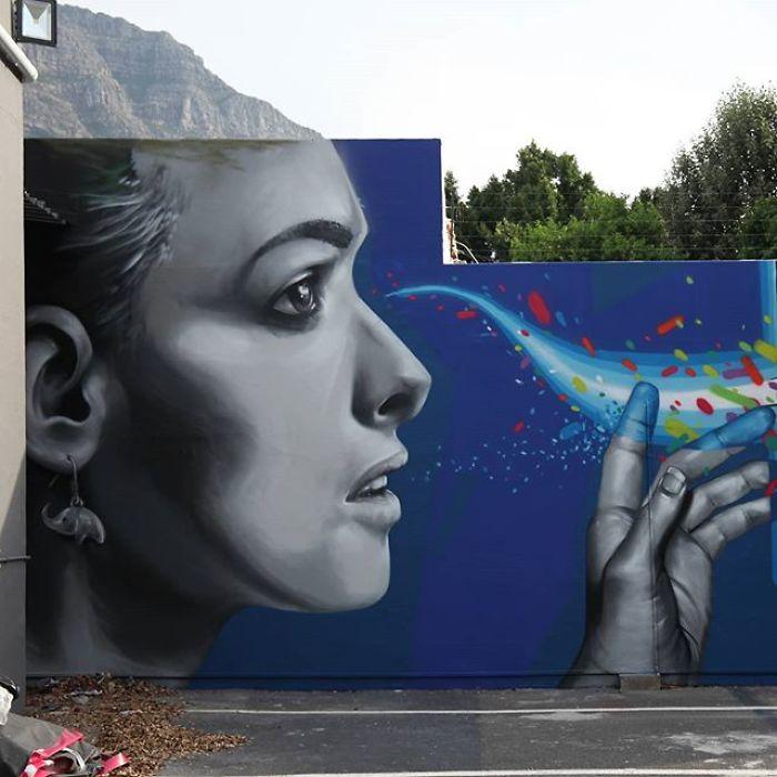 street art grafiti falko