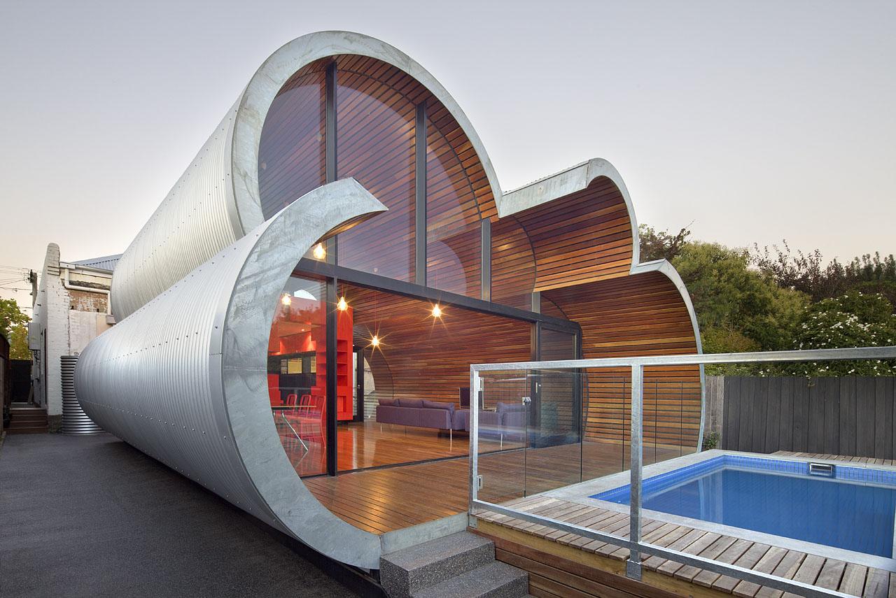 bentuk atap unik