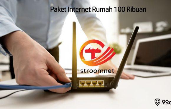 Paket Internet Rumah 100 Ribuan