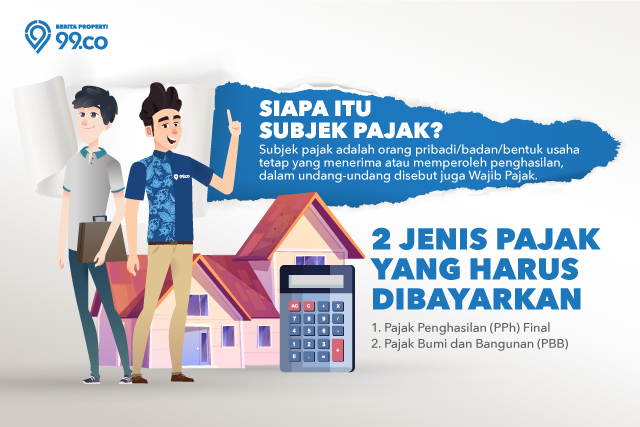 subjek pajak sewa rumah