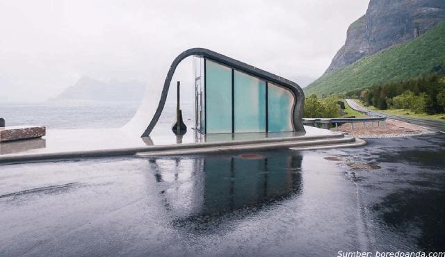 Toilet di Norwegia Ini Disebut Toilet Terindah di Dunia! Setuju?