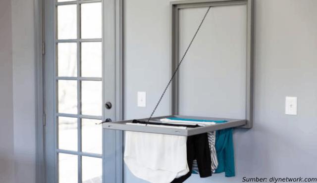 DIY Jemuran Dinding Minimalis untuk di dalam Rumah | Yuk, Buat Sendiri!