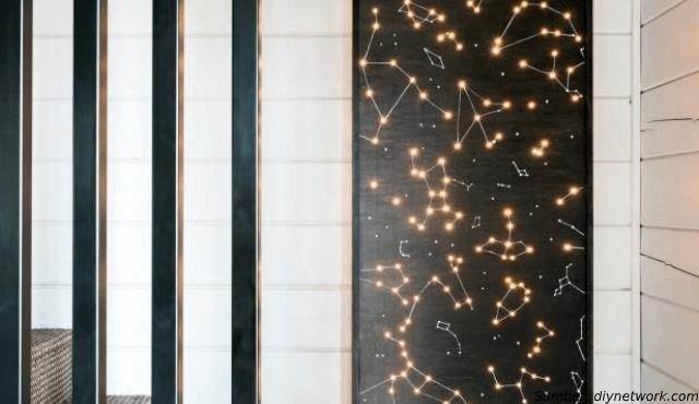 WOW! Kini Kita Bisa Hadirkan Hiasan Dinding Rasi Bintang di Rumah